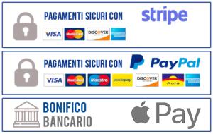 Pagamenti accettati Sellforyou: Paypal e carte di credito postepay,mastercard,maestro